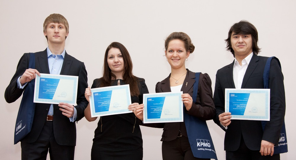 GSOM team — the regional round winner of KPMG Case Cometition 2012